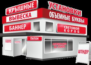 Изготовление наружной рекламы в Череповце