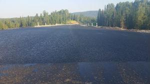 Ремонт дороги в обход Каза практически завершён