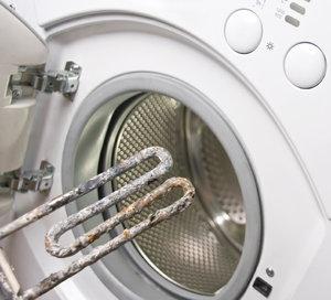 Удаление накипи с ТЭНа в стиральных машинах
