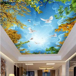 Натяжной потолок с фотопечатью в Коряжме