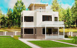 Проекты домов из ЛСТК. Работаем по всему Краснодарскому краю!