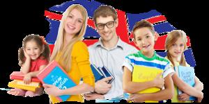 Записаться на занятия в школу английского языка в Вологде