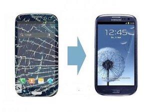 Замена стекла на Samsung