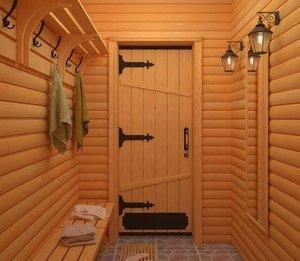 Двери для бани с термостойким уплотнителем в Вологде