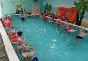 Бассейн Ква-Ква приглашает на занятия плаванием в Вологде