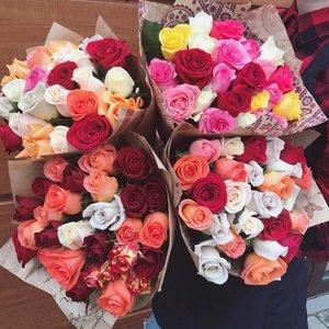 21 роза-555рублей.