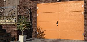 Распашные гаражные ворота в Вологде