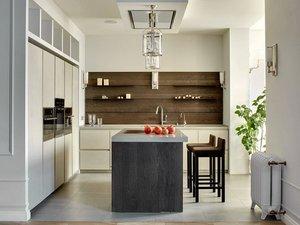 Нестандартное решение: кухня без верхних шкафов