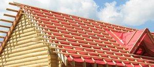 Обрешетка крыши дома в Вологде