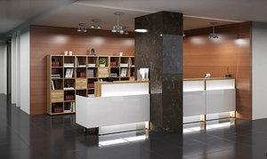 """В магазине """"Ваша Мебель"""" Вы можете купить стойку ресепшн на заказ, а также другую мебель для офиса, магазина и бара"""