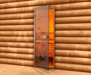 Где купить стеклянные двери для бани в Вологде?