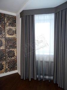 Заказать индивидуальный пошив штор в спальню в Вологде