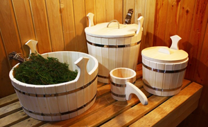 Качественные бондарные изделия для бани и сауны