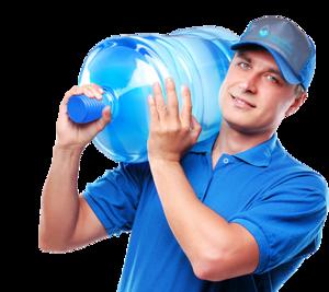 У нас можно заказать доставку воды на дом!