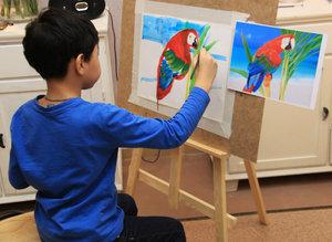 Обучение рисованию детей опытными педагогами