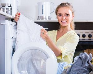 Услуги по стирке одежды для частных лиц и учреждений
