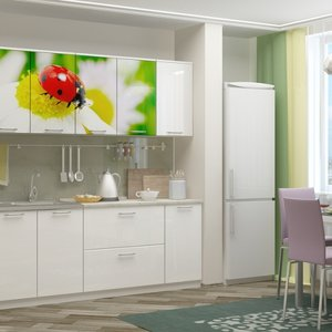 Кухни с фотопечатью: современные методы декорирования