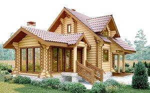 Строительство дома из бревна под ключ в Череповце