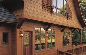 Заказать наружную отделку деревянного дома