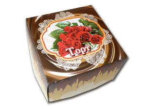Купить коробки под торты недорого