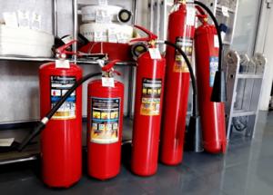 Зарядка, ремонт, покраска огнетушителей