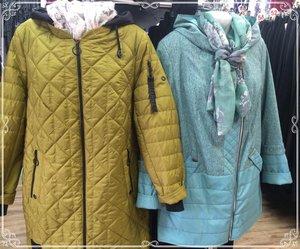 Куртки женские больших размеров в Череповце и Вологде