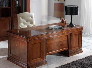 Заказать стол для кабинета из массива дуба в Вологде