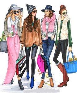 Блузы, платья, туники, джинсы, шорты и многое другое