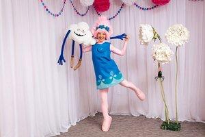 Аниматоры Тролли - Розочка и Цветан на детский праздник