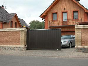 Купить автоматические откатные ворота в Череповце