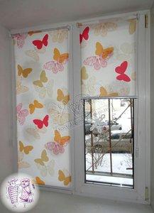 Рулонные шторы из ткани в Вологде