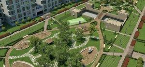 Комплексное благоустройство дворовых территорий