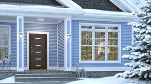 Входная Термо Дверь| Теплое решение для загородного дома