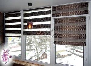 Рулонные шторы день-ночь купить в Вологде