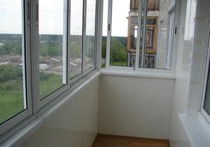 Остекление балконов, евробалконов
