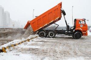 Предоставляем услуги по вывозу снега!