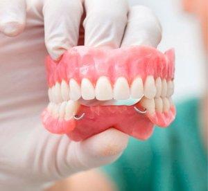 Съемные протезы зубов. Изготовим в короткие сроки!
