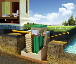 Аккуратный монтаж канализации для загородного дома