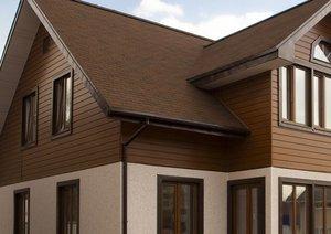 Наружная отделка деревянного дома различными материалами