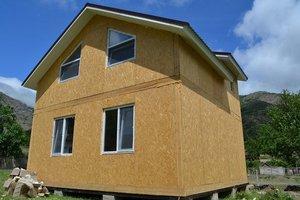 Дома из сип панелей в городе Тула
