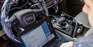 Проведение диагностики на авто Audi