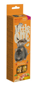 Лакомства для грызунов и птиц - палочки Little One