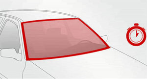 Замена лобовых стекол в Автосервисе У Жени