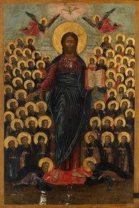 Празднество Всемилостивому Спасу и Пресвятой Богородице.