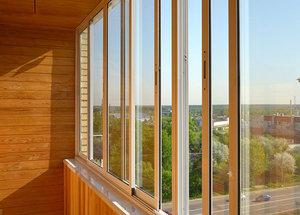 Алюминиевое остекление балконов в Красноярске - цены