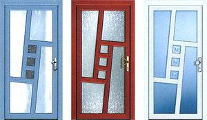 Чем хороши двери с ПВХ покрытием