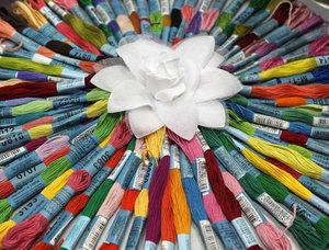 Нитки мулине любых цветов в ассортименте