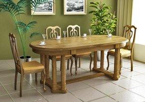 Обеденные столы из массива дерева в Вологде