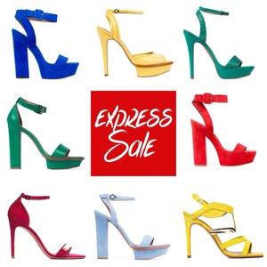 """Акция """"Express Sale"""" в магазине обуви CorsoComo"""