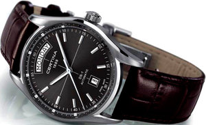 Часы DS-1 Automatic Day-Date от Certina: дух ретро в новой интерпретации
